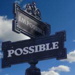 panneaux possible impossible