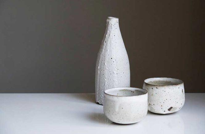 3 objets en céramique