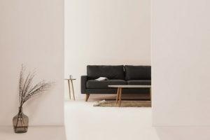 meubles et décoration minimalistes